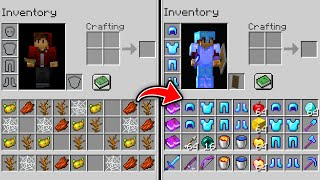 Minecraft UHC but the inventory is swapped every minute..