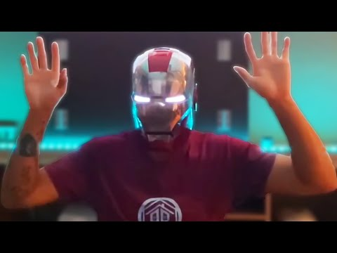 Man Sets Own Parachute On Fire