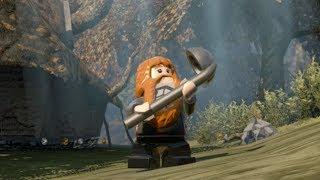 LEGO The Hobbit - Unlocking Bombur (young) w/ Free Roam Gameplay