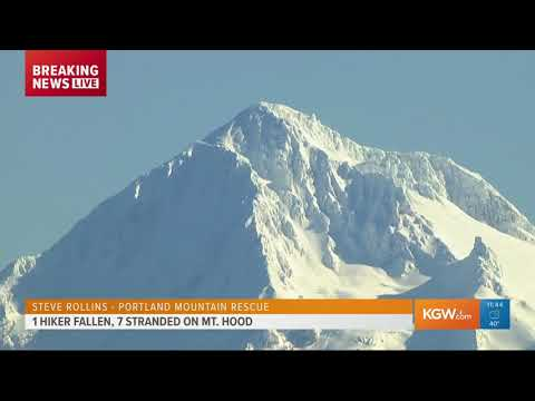 Rescue underway for injured climber on Mt. Hood