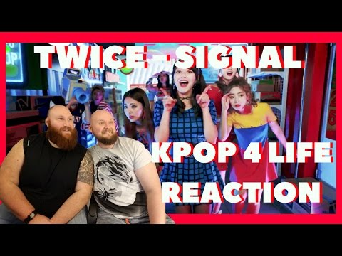 Thumbnail: TWICE SIGNAL REACTION VIDEO KPOP 4 LIFE