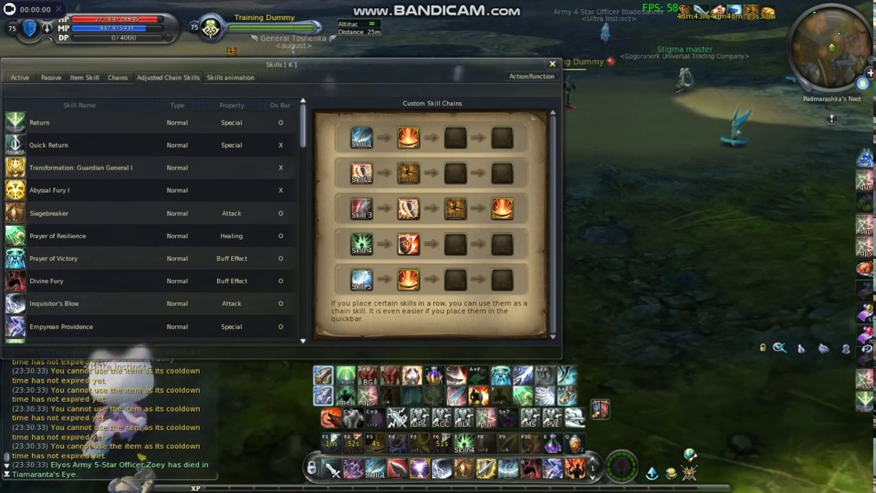 Not Aion Forum • View topic - 5 8 TEMPLAR SKILL CHAINS