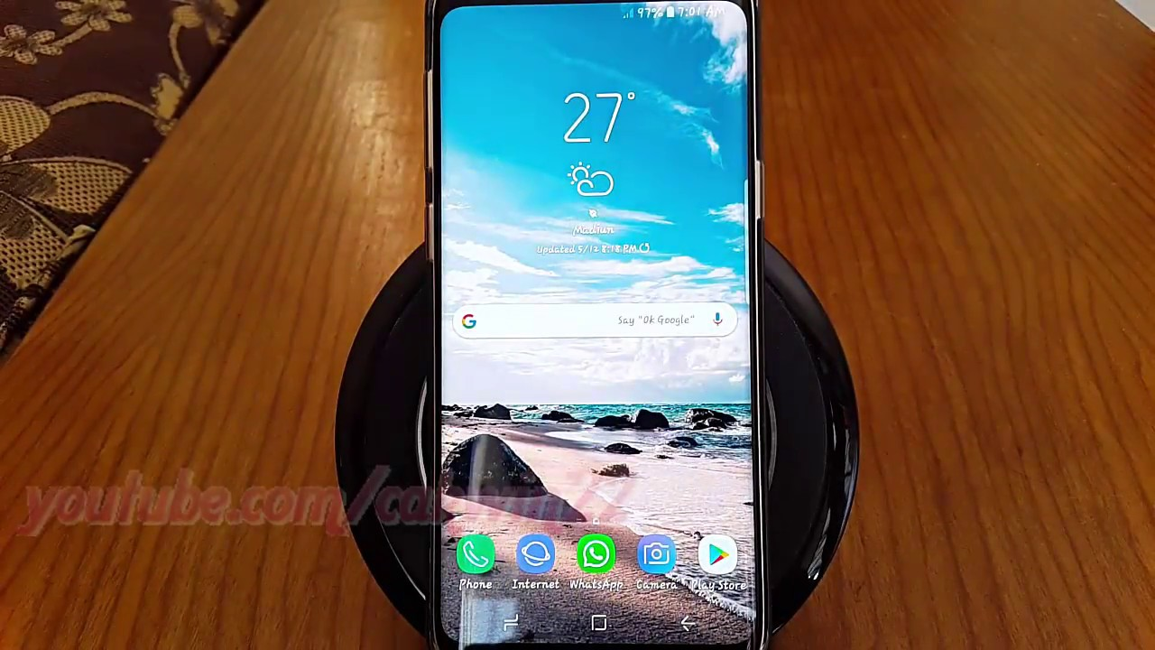 How to Enable or Disable Add App Icon To Home Screen Automatically (Samsung  Galaxy S9)