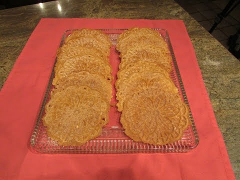 Apple Crispy Pizzelle Cookies by Diane Lovetobake