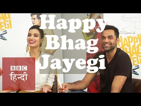 Abhay Deol & Diana Penty on Happy Bhag Jayegi (BBC Hindi)