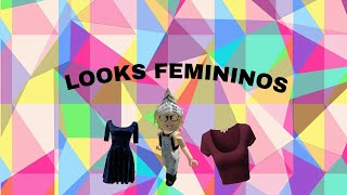 LOOKS FOR GIRLS IN ROBLOX (WITH AND WITHOUT ROBUX)
