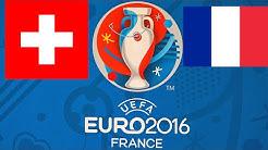 FIFA 16 EM-PROGNOSE #25 - SCHWEIZ : FRANKREICH