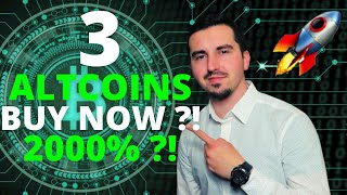 Top 3 Altcoins Ready To EXPLODE in September 2021  BEST Crypto NOW 2000% ?! CRYPTO NEWS TODAY ?!
