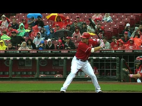 Votto goes 4-for-5 with three home runs