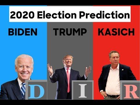 2020 Election Prediction | John Kasich vs Donald Trump vs Joe Biden