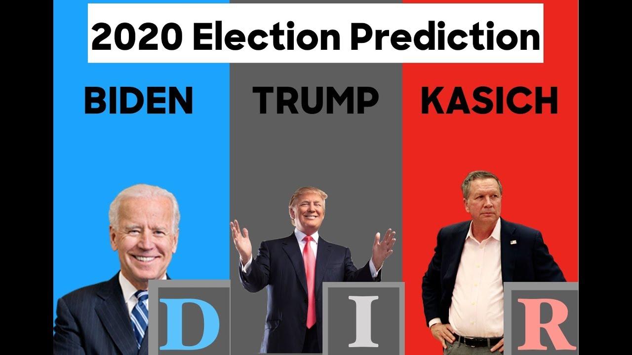 election prediction john kasich  donald trump  joe biden youtube
