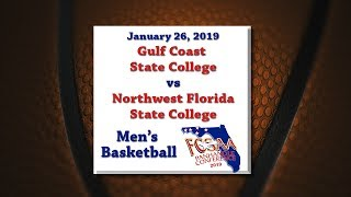 Panhandle Conference 2019   Gcsc @ Nwfsc   January 26, 2019   Men's Basketball