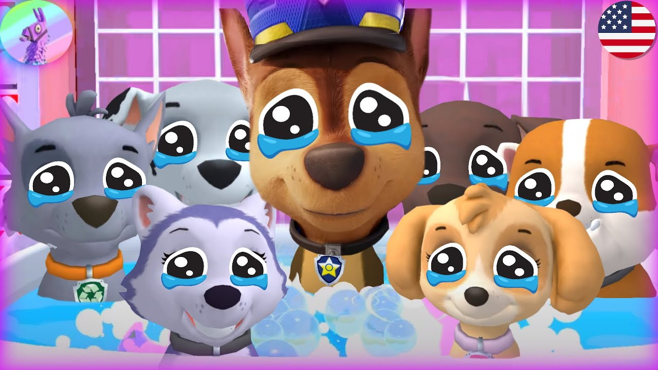👉PAW Patrol The Movie Trailer +All Pups A Day in Adventure Bay -Chase,Skye,Rocky -Nick Jr HD