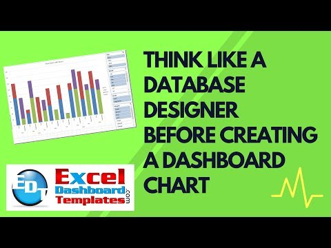 Think Like a Database Designer Before Creating an Excel Dashboard Chart