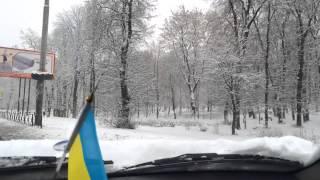 Снег, Киев, Парк КПИ, Ноябрь 2014(, 2014-11-24T05:50:34.000Z)