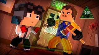 Minecraft: HELLO NEIGHBOR - O VIZINHO É  ▲ILLUMINATI▲  ESSE É O GRANDE SEGREDO!!