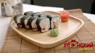 Доставка суши в Омске - Японский домик. Приготовление ролла Тори Маки(, 2016-05-18T10:02:06.000Z)