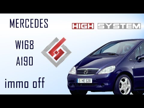 IMMO OFF Mercedes A190 (W168)