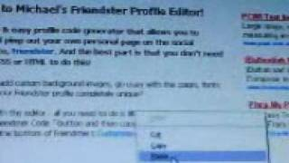 how to make a friendster layout