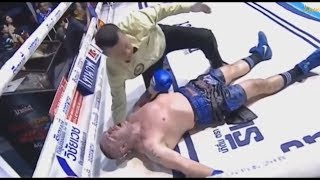 Deadly fight. Boxer dies after KO | Christian Daghio Legend Muay thai
