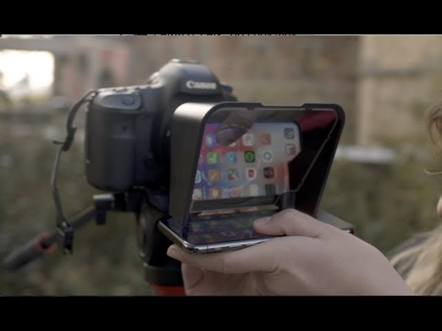 Padcaster in Action: Parrot Teleprompter