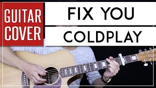 Download lagu Fix You Guitar Cover Acoustic - Coldplay + Onscreen Chords