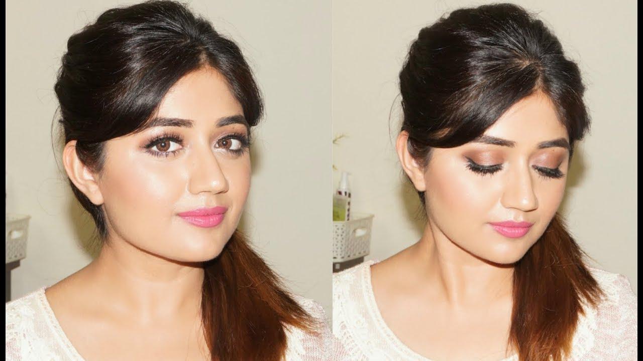 Glamorous Natural Makeup Tutorial for Indian Skin  corallista