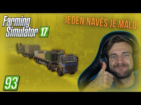 JEDEN NÁVĚS JE MÁLO! | Farming Simulator 17 #93 thumbnail