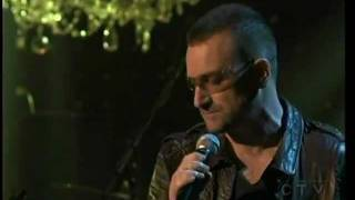 "Bono ""Two shots of Happy , One Shot of Sad"""