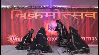 VIKRAMADITYA COLLEGE DISHA-2017 Rajisthani Dance