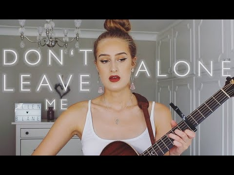 David Guetta Ft Anne-Marie - Don't Leave Me Alone | Cover By Ellen Blane