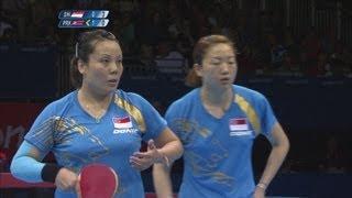 Table Tennis Women's Team Quarter Finals - Singapore v DPR Korea Full Replay - London 2012 Olympics