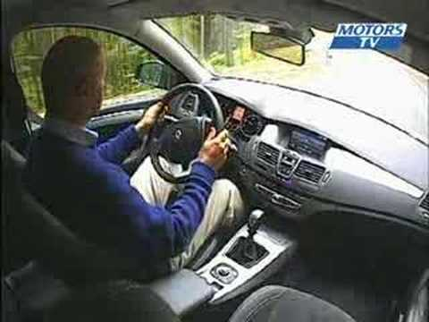 Car test Renault Laguna III