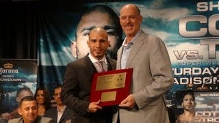 Joel Fisher talks about Cotto's achievements at MSG