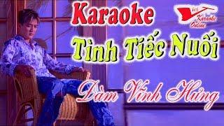Karaoke Tinh Tiec Nuoi - Dam Vinh Hung (Song Ca)