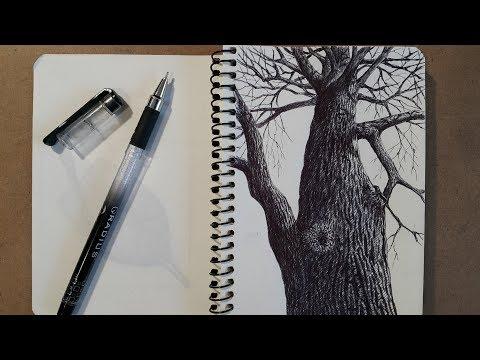 Как научиться рисовать гелевой ручкой