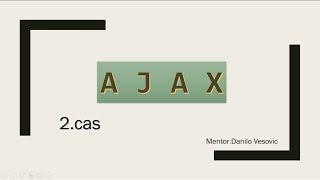 Ajax and JSON