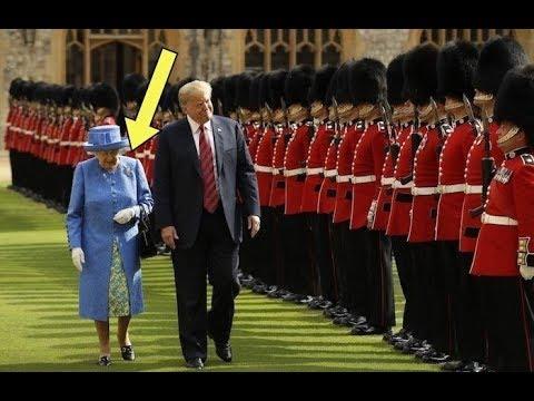 Как Елизавета II «затроллила» Трампа с помощью одной маленькой детали гардероба