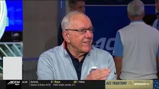 Coach Boeheim ACCN Appearance | Operation Basketball