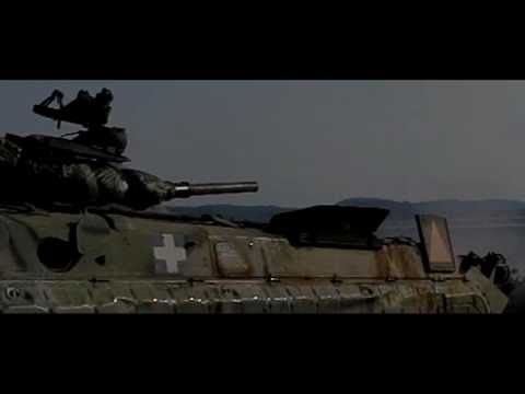BMP1 IFV Hellenic Army firing, slow motion.