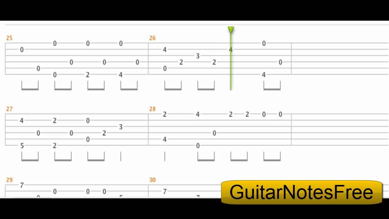 We Wish You A Merry Christmas - Sungha Jung Guitar Tab HD - YouTube