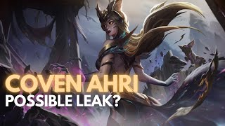 NEW LEAK COVEN AHRI SKIN? | Ahri Ranked Gameplay VS Kassadin