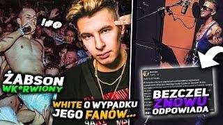 ŻABSON broni fana na koncercie BEZCZEL znowu zapowiada odpowiedź WHITE 2115 o wypadku..