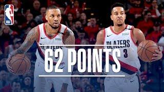 Damian Lillard and C. J. McCollum Lead Portland to a 2-0 Series Lead | April 16, 2019