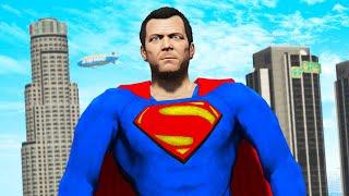 GTA 5 - Playing as SUPERMAN!