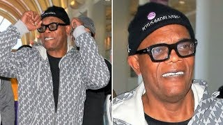 Samuel L. Jackson Has A Message For Donald Trump On Presidents Day