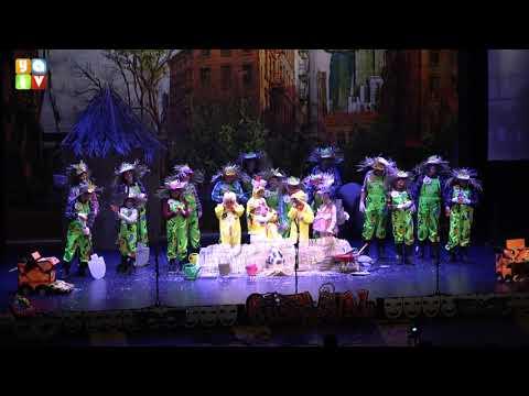 No decimos ni pío Chirigota Infantil de Algeciras Carnaval 2020