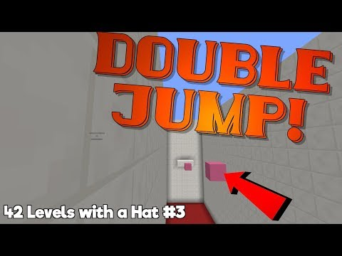 these blocks give you DOUBLE JUMP! |