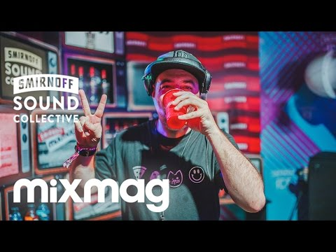 JUSTIN MARTIN in The Lab #SmirnoffHouse at HSMF16