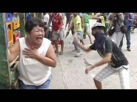 Clashes over Manila slum demolition - no comment